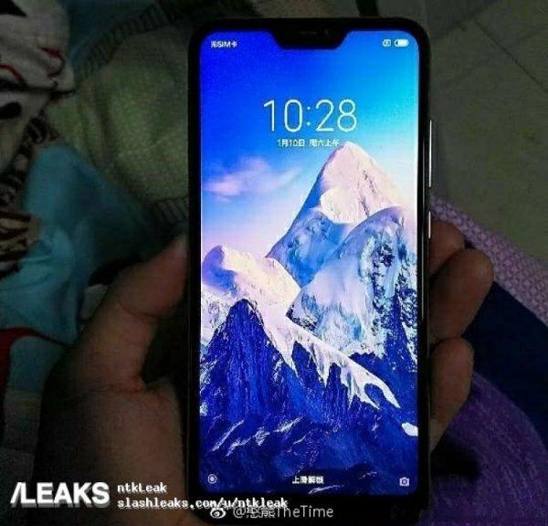 В Сеть слили «живые» фото смартфона Redmi 6 Pro