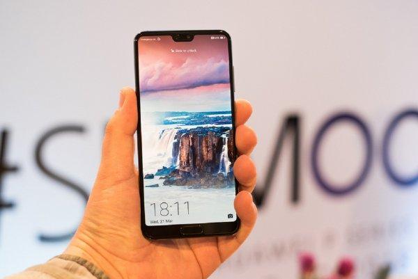 Huawei P20 Pro распознает движения в режиме super slow-mo
