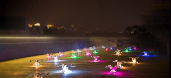Более тысячи дронов «поздравили» китайский город с 1400-летием