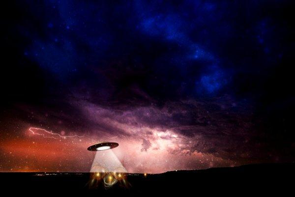 В Турции обнаружили кольцеобразное НЛО