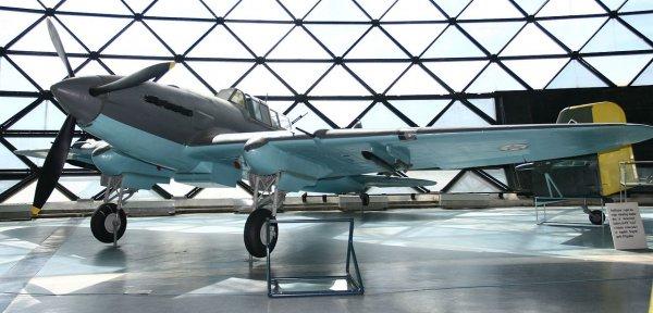 В небе над Воронежем заметили штурмовик Ил-2