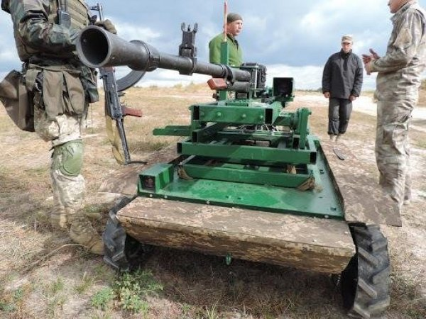 Роботизированное недоразумение: ВСУ приступили к испытаниям нового боевого робота
