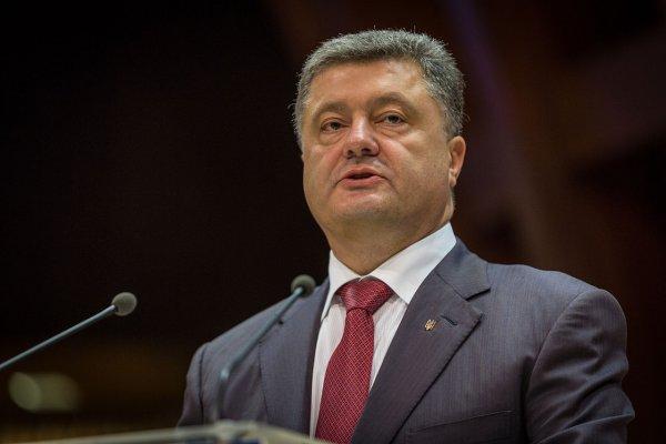 Порошенко объявил возвращение Крыма и Донбасса «первым приоритетом» Киева