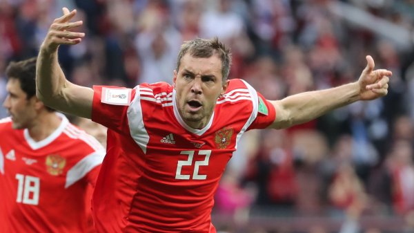 Победа сборной России вдохновила пользователей социальных сетей