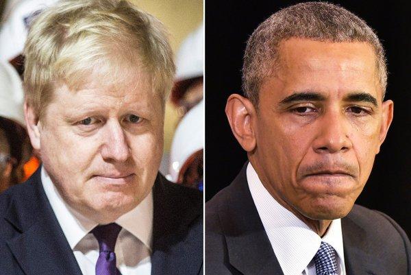 Обама назвал Бориса Джонсона «британским Трампом»