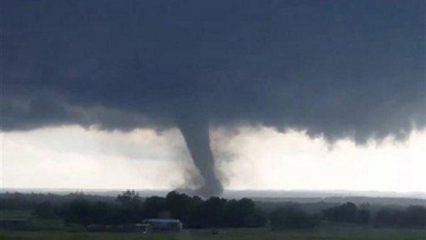 На американский штат Айова обрушилось торнадо