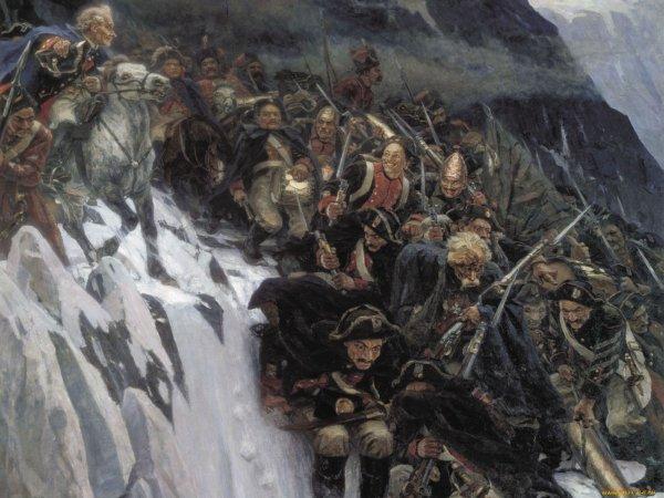 Картину «Переход Суворова через Альпы» оживят в мультфильме