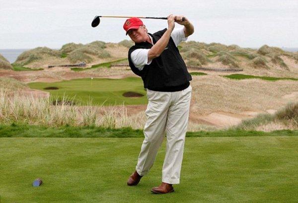 Трамп собирается построить грандиозный комплекс для гольфа в Абердиншире