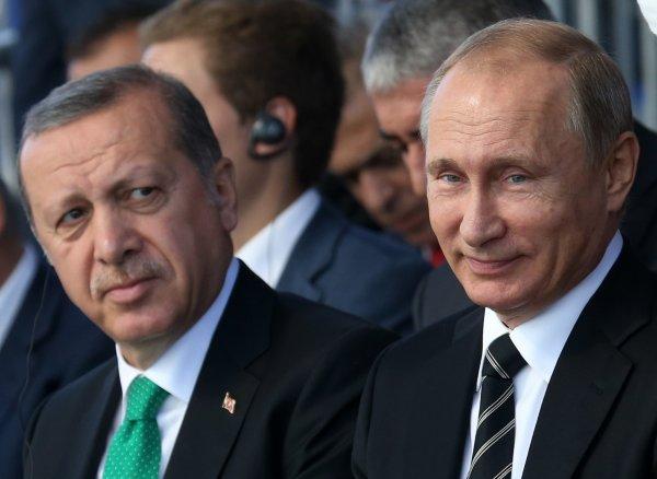 Путин согласился пообедать с Эрдоганом в ресторане при одном условии