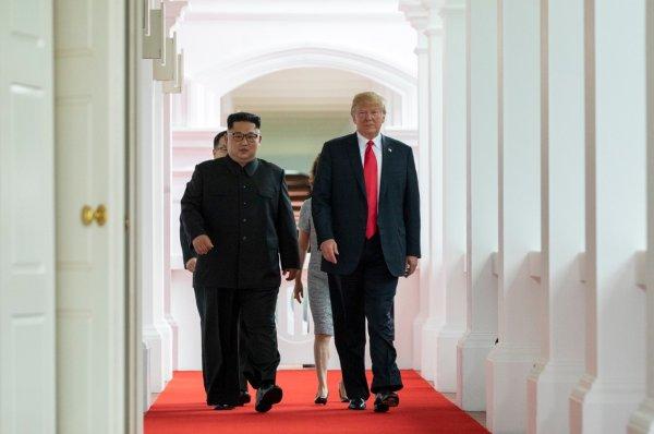 Трамп отблагодарил Ким Чен Ына за возврат останков американских солдат