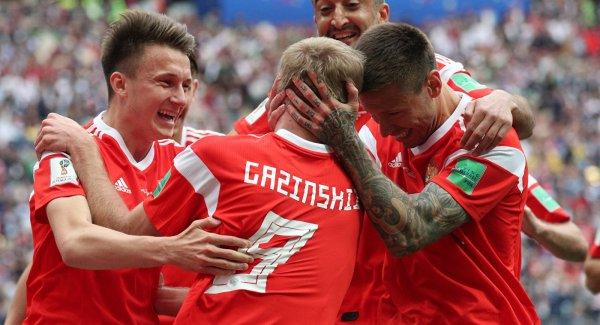 Сборная России по футболу совершила рекордный скачок вверх в рейтинге ФИФА