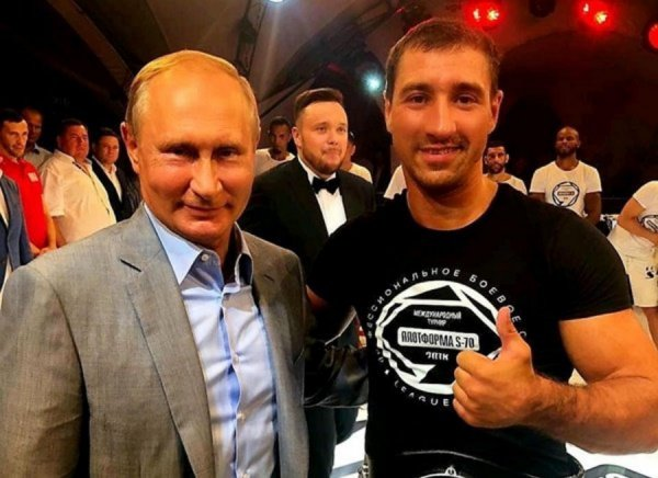 Владимир Путин лично оценил бой самбиста из Ростова