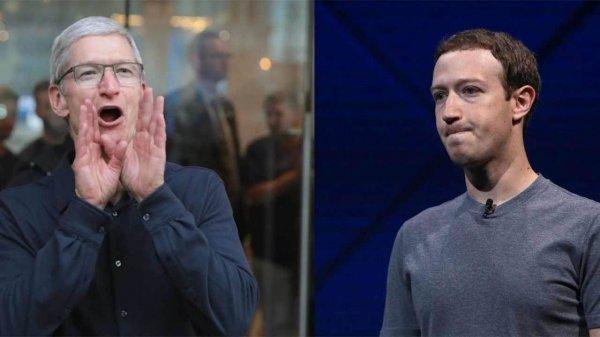 Цукерберг отверг критику Тима Кука о передаче личных данных пользователей Facebook