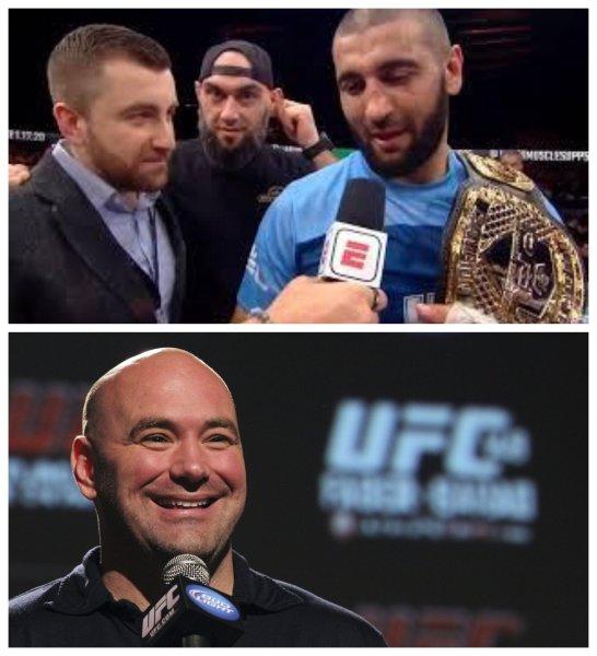 Чемпион PFL Али Исаев напросился к Дане Уайту в UFC