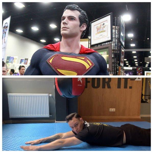 Простейшее упражнение «Супермена» убережёт спину от всех бед