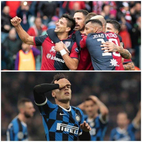 «Убийство» в Милане: «Кальяри» знает, как «сломать хребет» «Интеру» в Кубке Италии