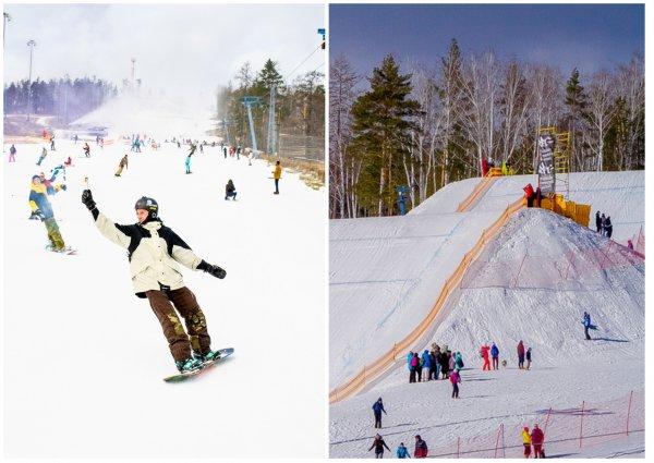 «Солнечная долина» на Урале прекрасно подойдет для любителей лыж и сноубрдов