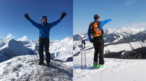 В обход снежных лавин: Экстремальные лыжные походы на Бзерпинский карниз открыты для смельчаков