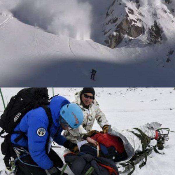 Как не погибнуть, оказавшись в ситуации жертвы схода лавины в Гудаури