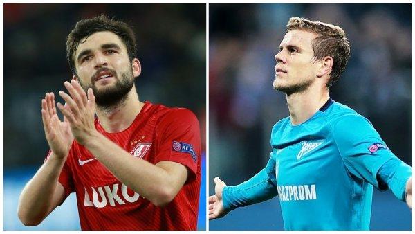 Джикия склоняет Кокорина к переходу летом в «Спартак»