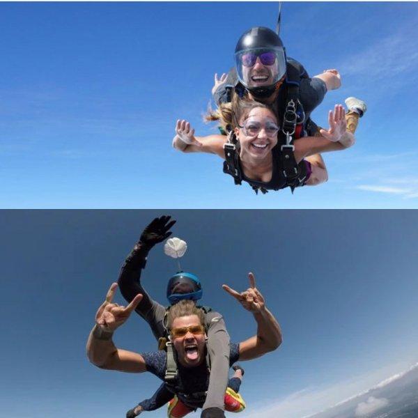 Прыжки с парашютом: Теперь спортом можно заниматься над Москвой