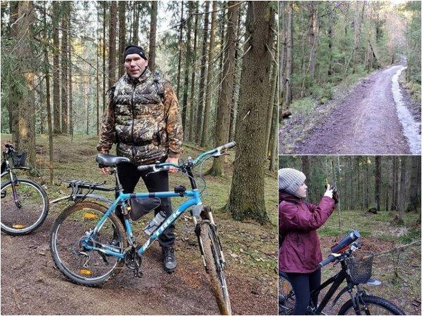Сменил кресло на байк: Валуев открыл сезон велотуризма в Ленинградской области