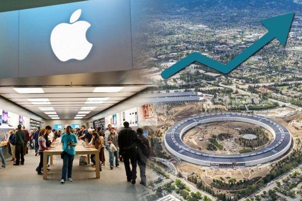 Apple побила собственный рекорд стоимости